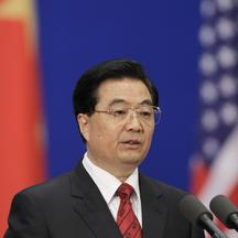 \'China\'s President Hu Jintao delivers a speech during the opening ceremony of the China-U.S. Strategic and Economic Dialogue in Beijing May 24, 2010. REUTERS/Jason Lee (CHINA - Tags: POLITICS)\'